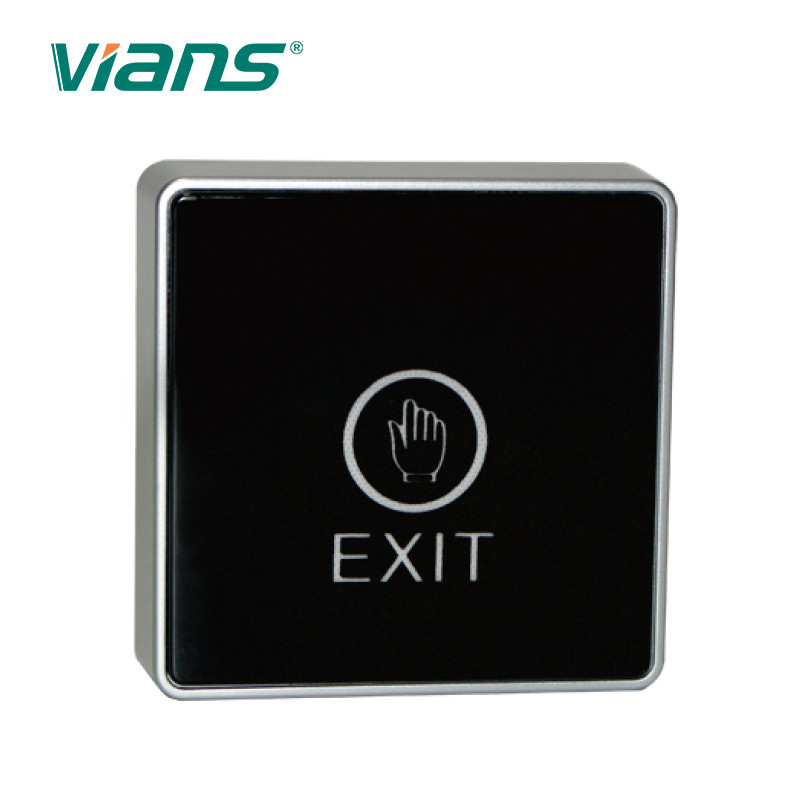 DC12V Touch Screen Door Exit Button NO/COM Switch Access Control Hollow Frame