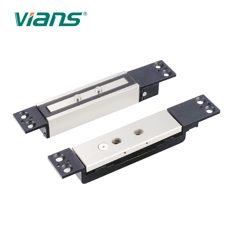 1200 Lbs Shear Magnetic Lock , Single Door Magnetic Lock With Signal Output